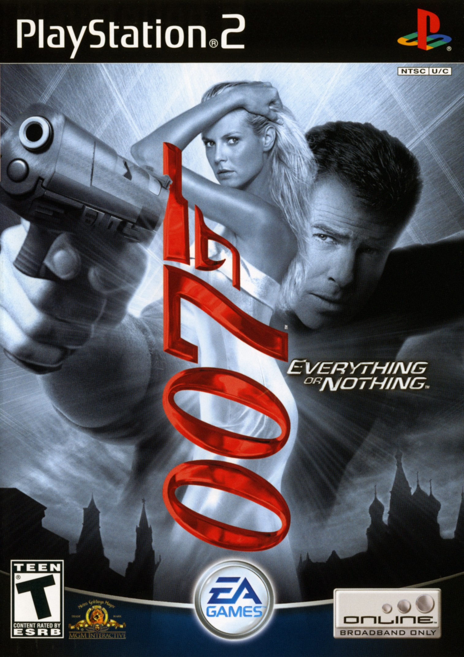 007 Everything Or Nothing/PS2