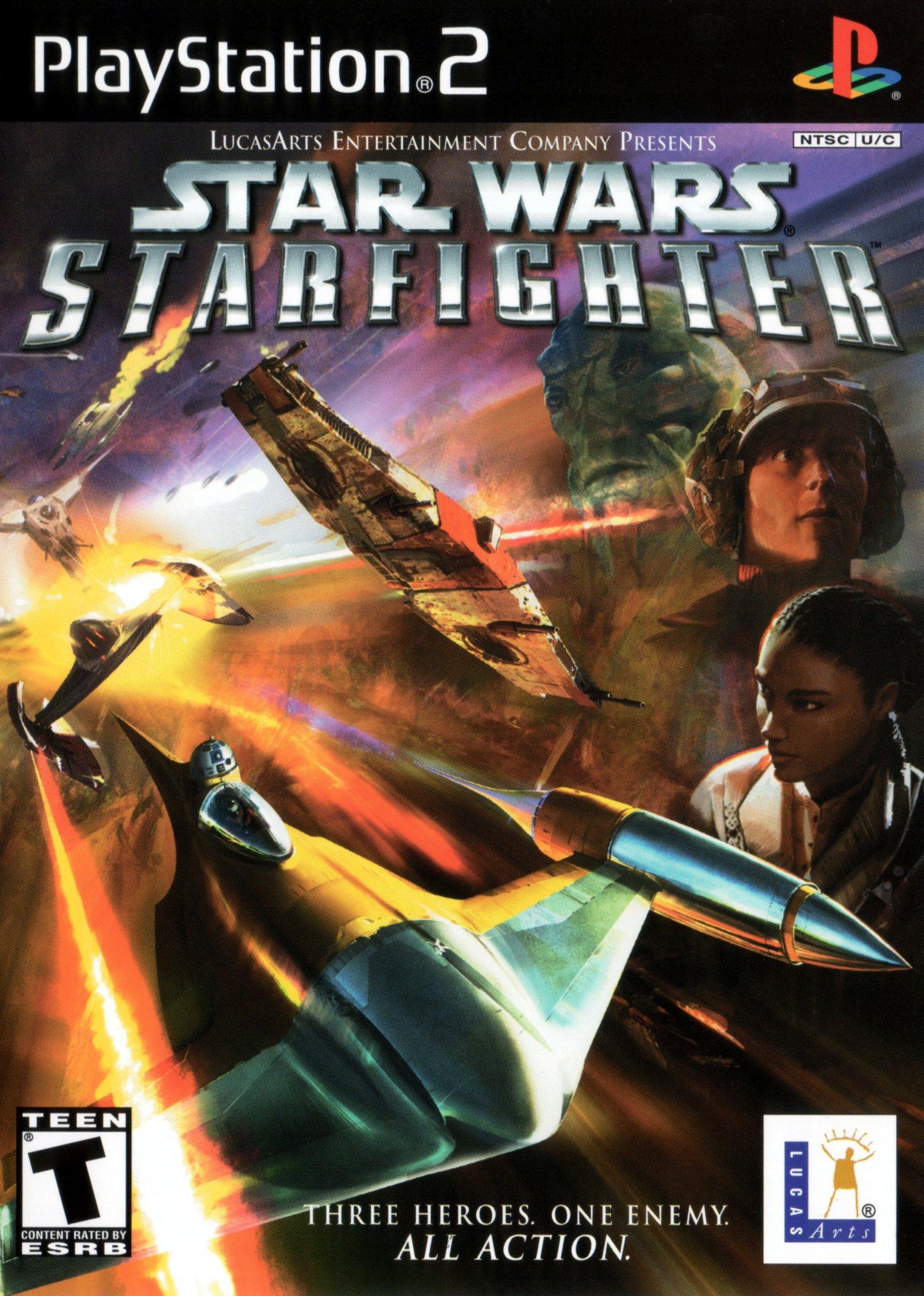 Star Wars Starfighter/PS2