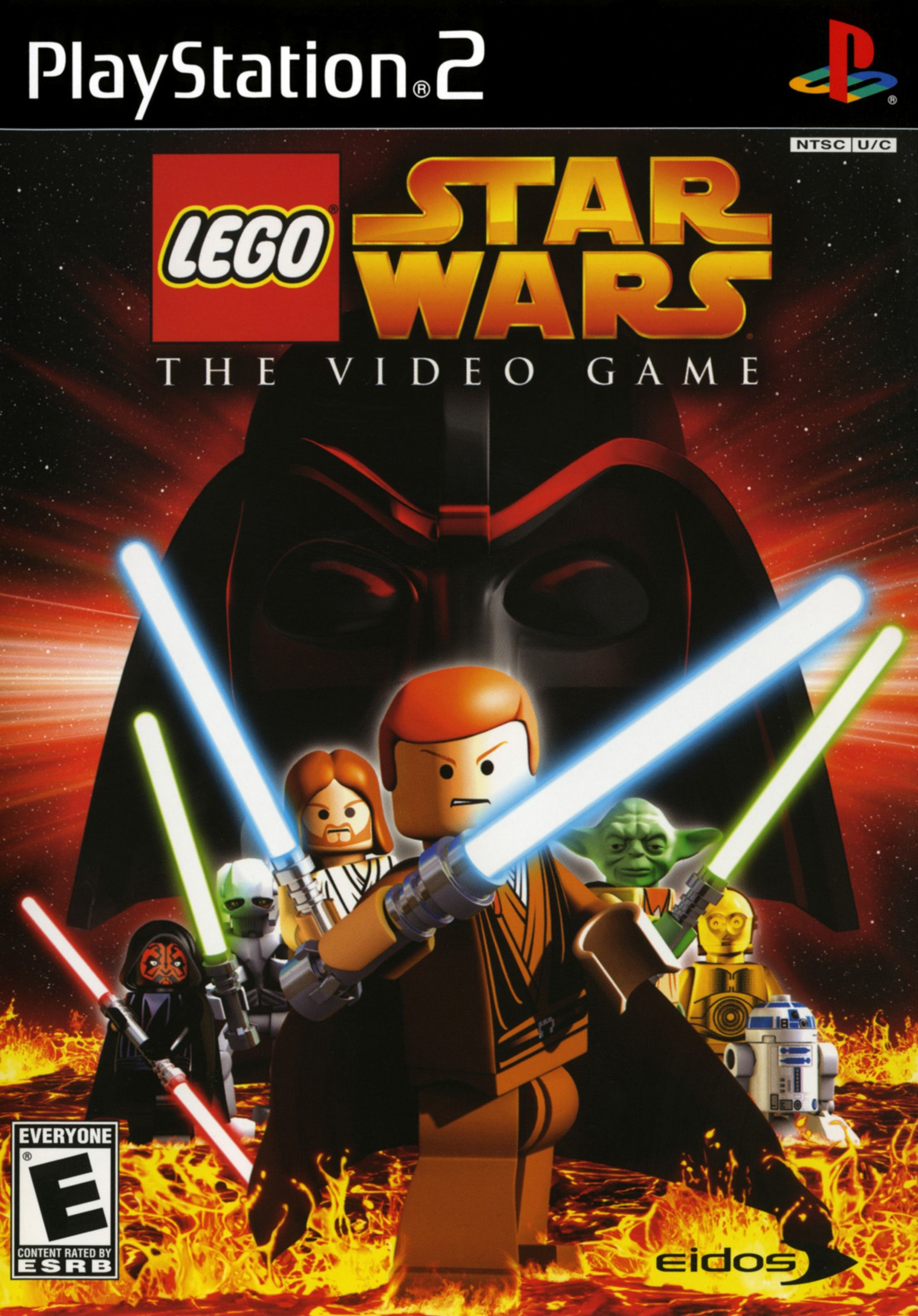 Lego Star Wars The Videogame/PS2
