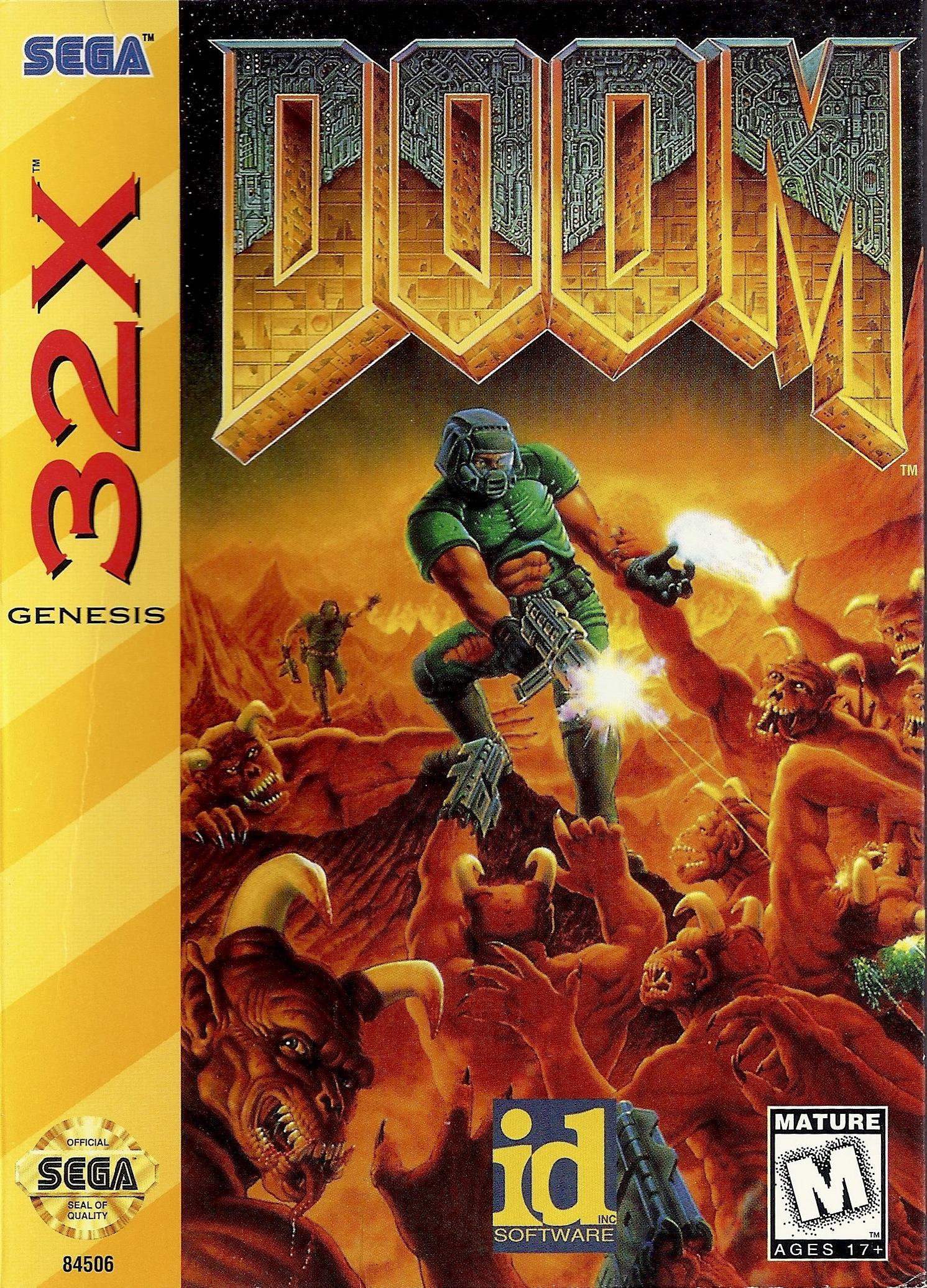 Doom/Sega 32X