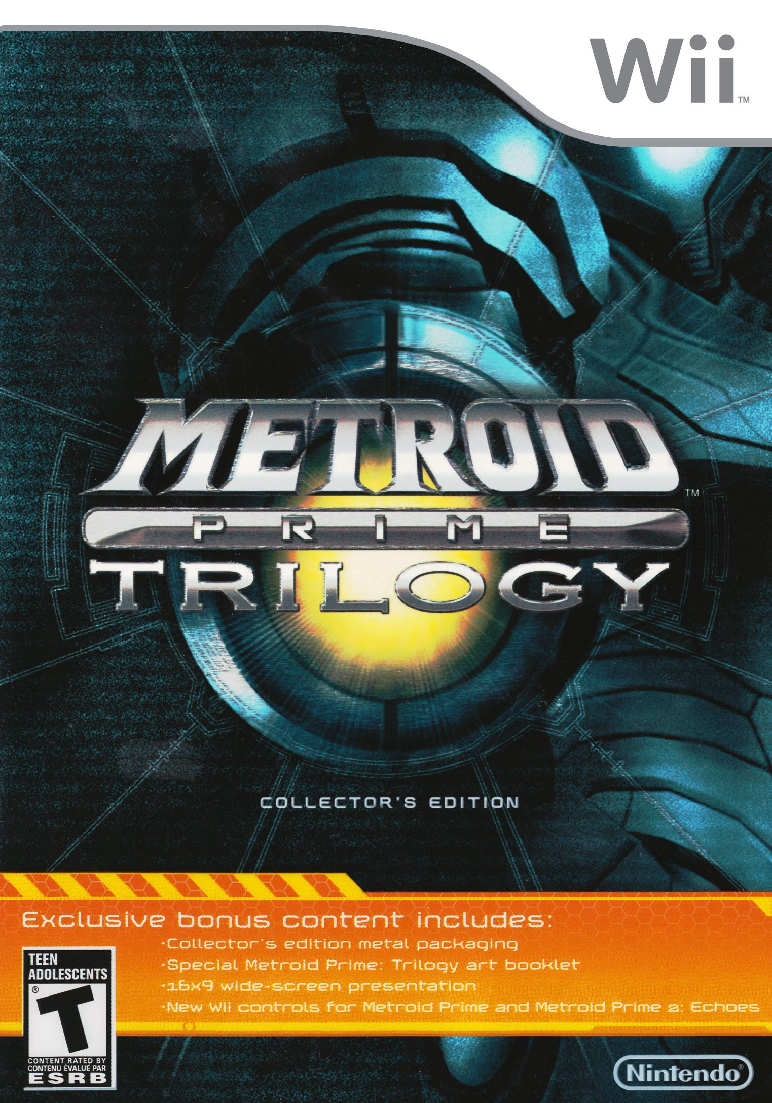 Metroid Prime Trilogy Collector's Edition/Wii