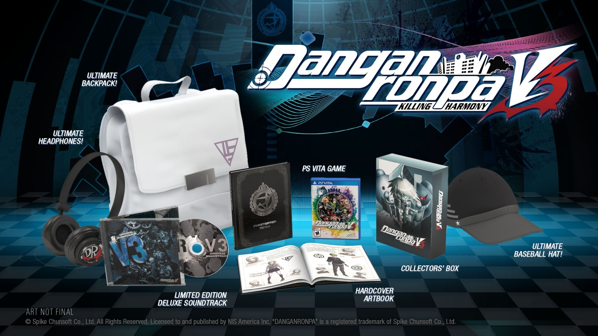 TGDB - Browse - Game - Danganronpa V3: Killing Harmony (Limited Edition)