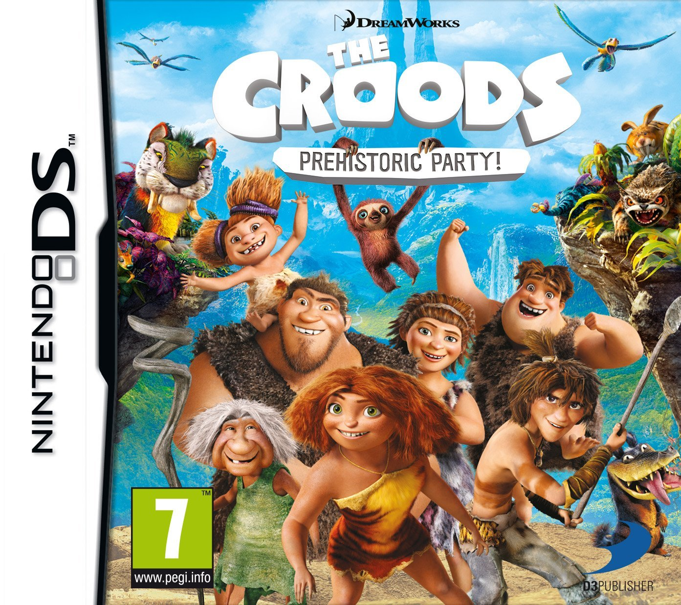 17133f899 TGDB - Browse - Game - DreamWorks The Croods  Prehistoric Party!
