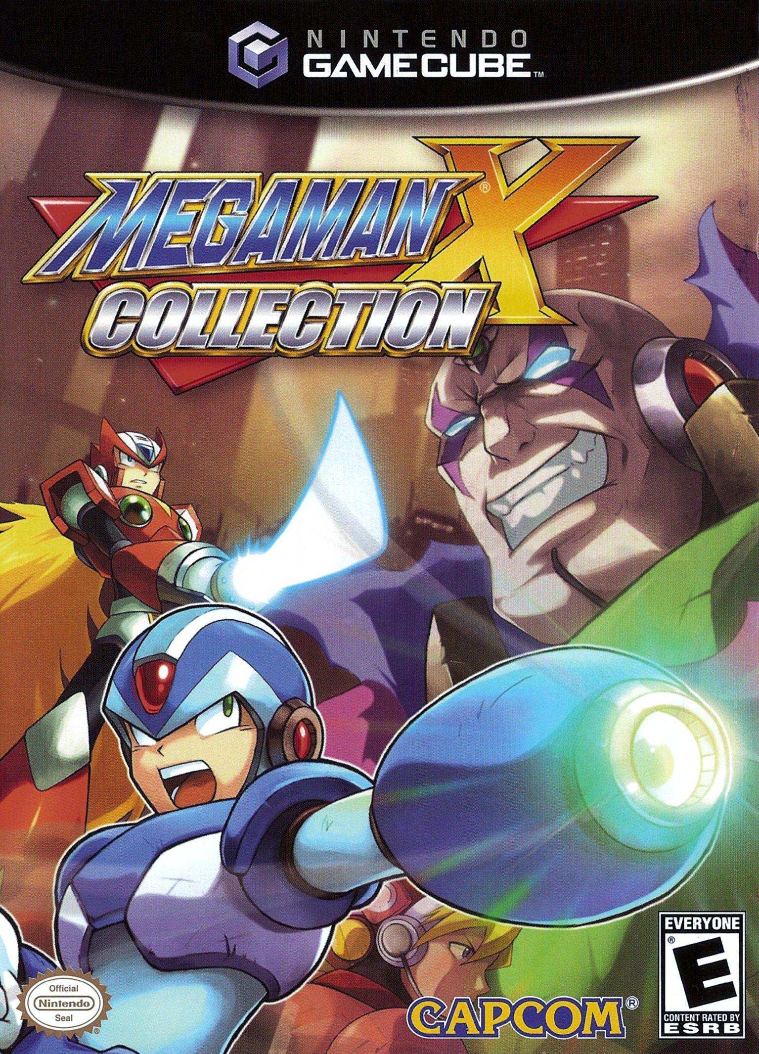 Mega Man X Collection/GameCube
