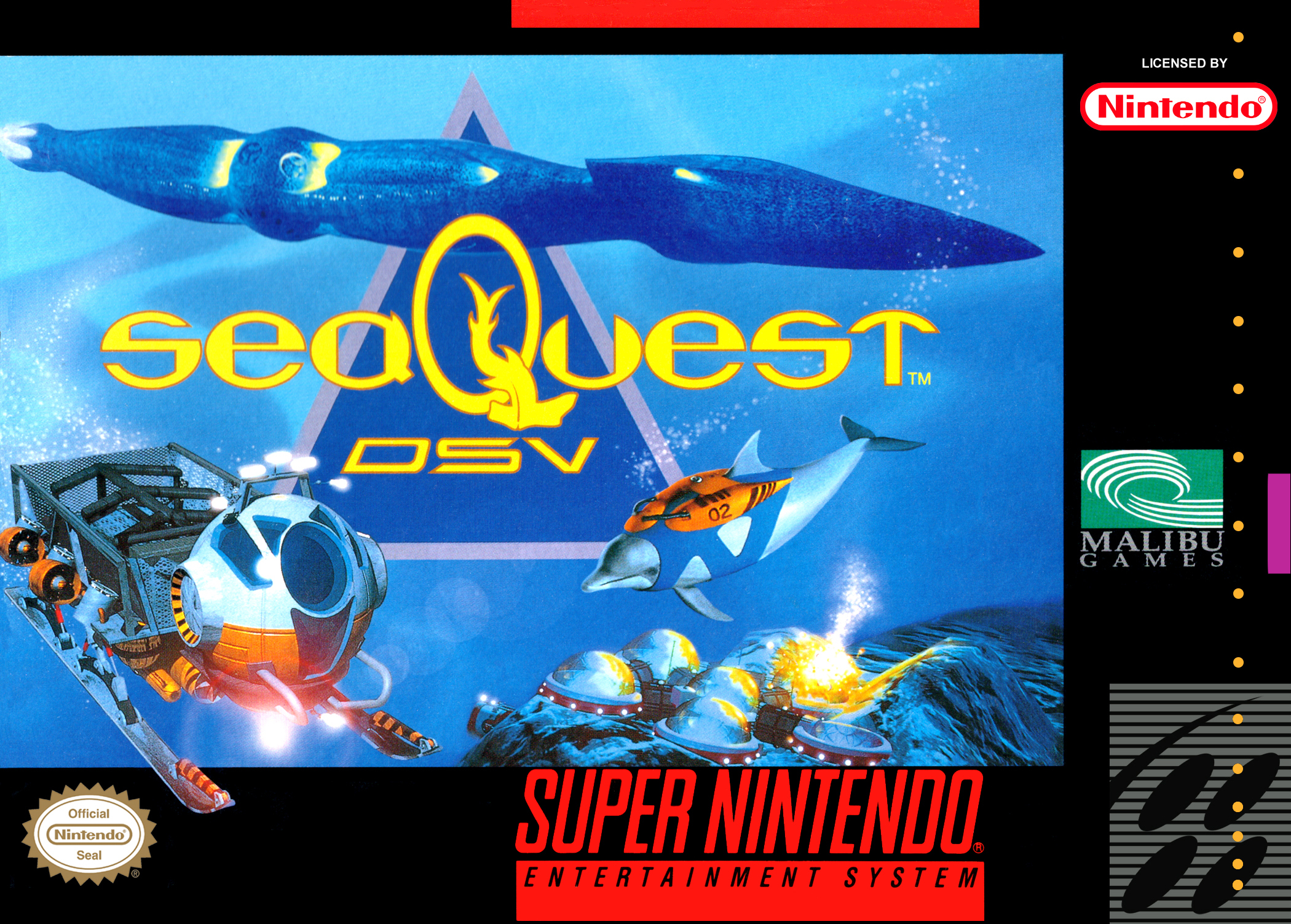 SeaQuest DSV/SNES