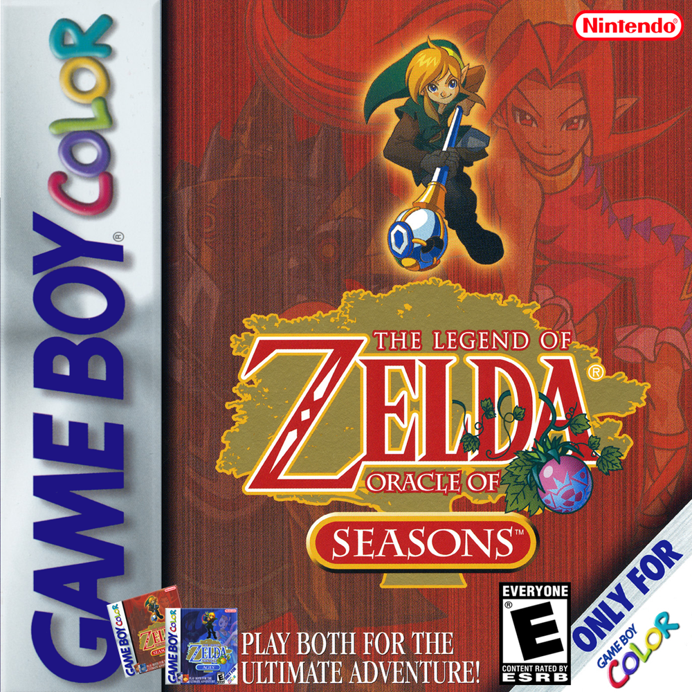 The Legend Of Zelda Oracle Of Seasons/Game Boy Color