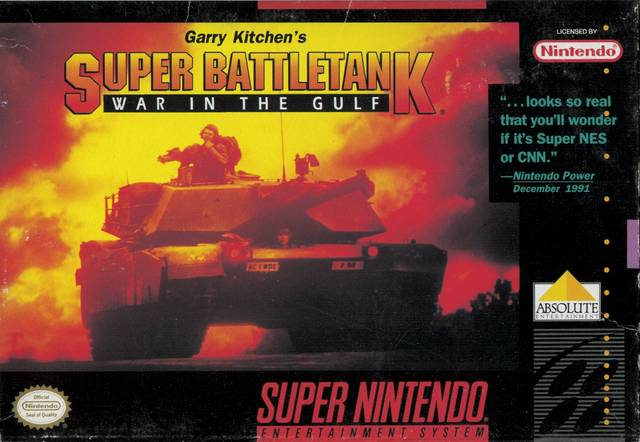 Super Battletank War In The Gulf/SNES