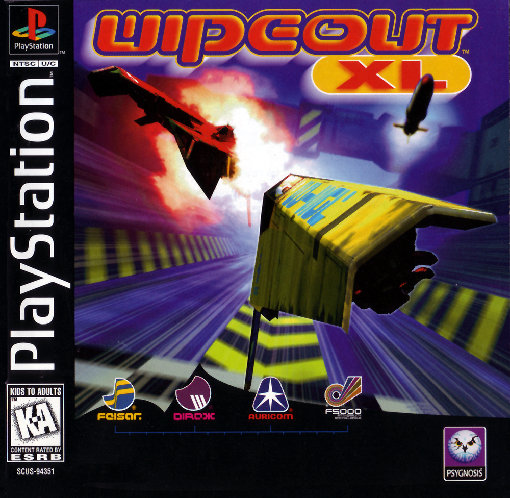 Wipeout XL/PS1