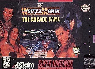 WWF Wrestlemania The Arcade Game/SNES