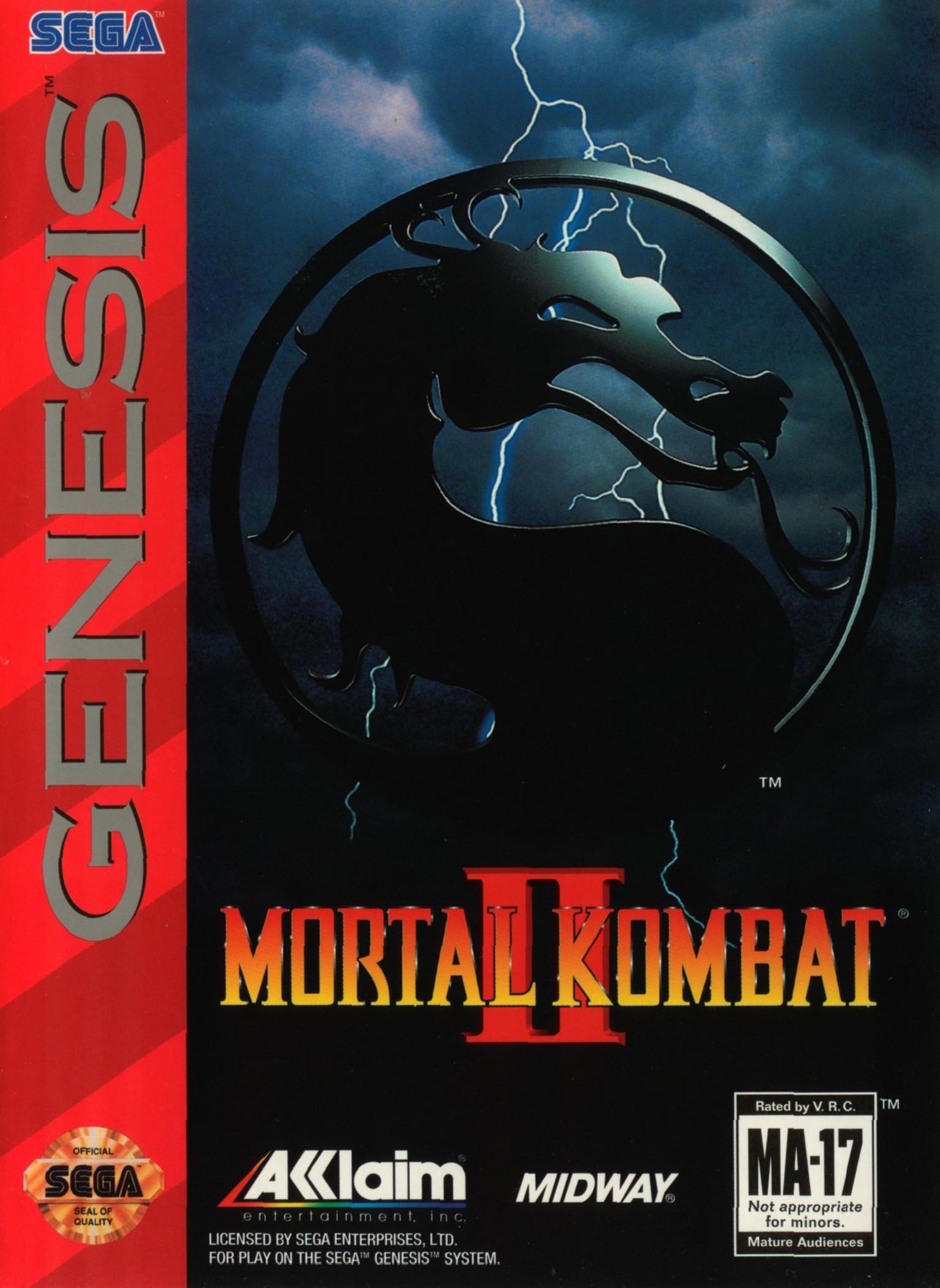 Mortal Kombat II/Genesis