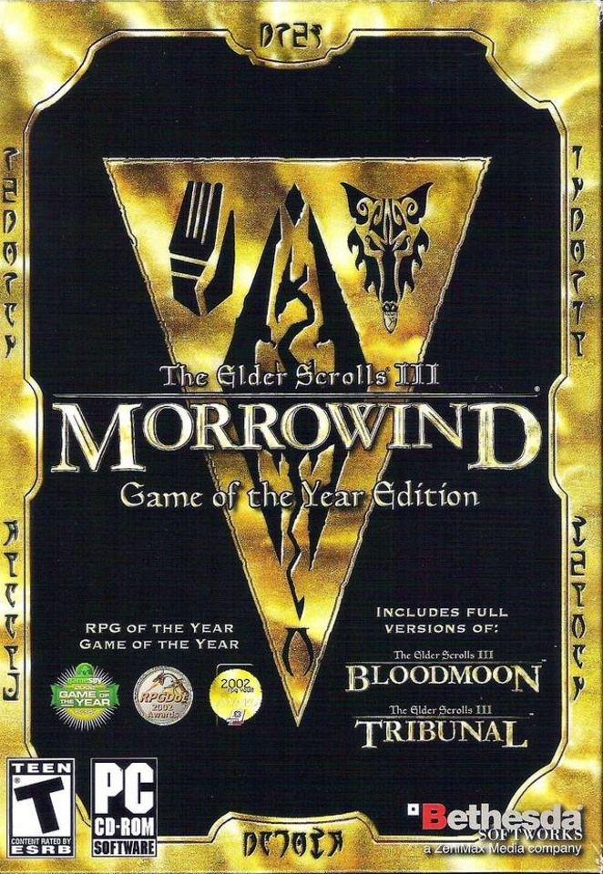 TGDB - Browse - Game - The Elder Scrolls III: Morrowind