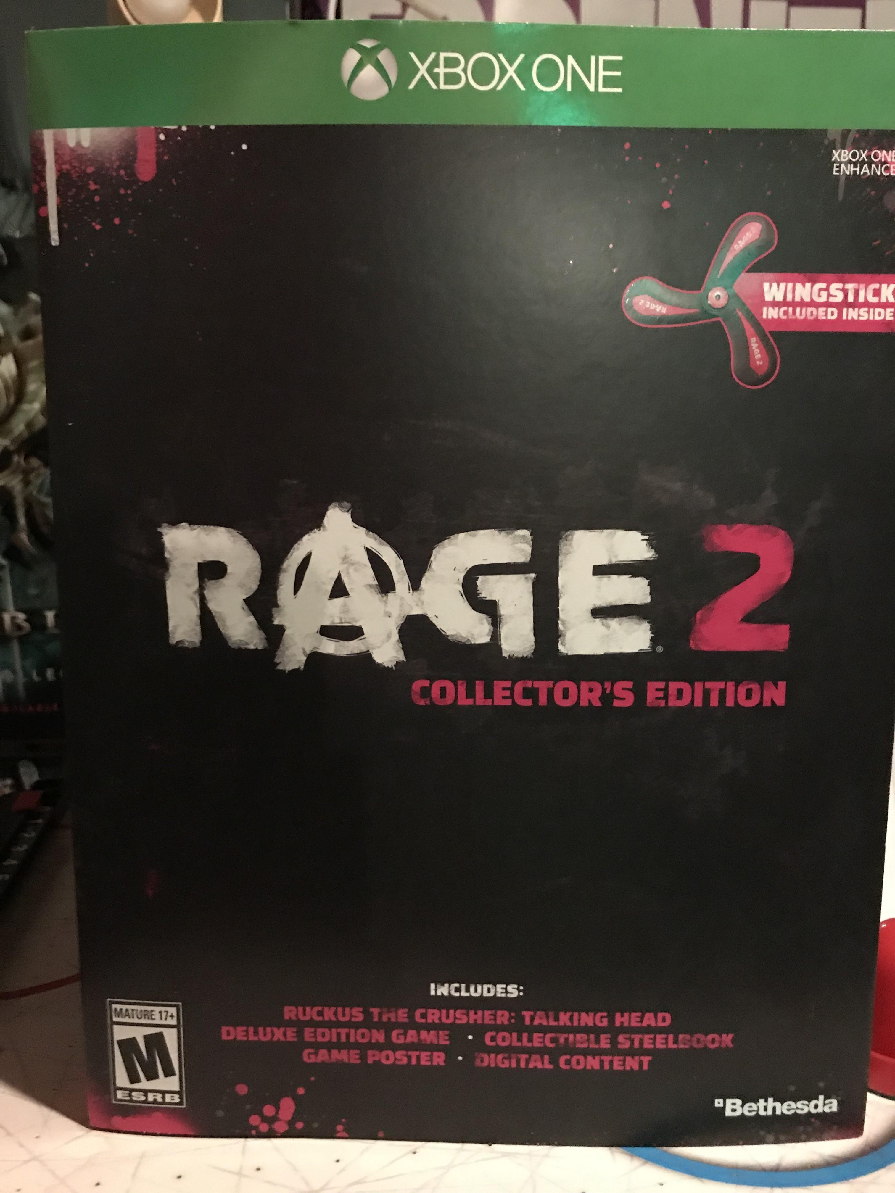 bethesda rage 2 collectors edition