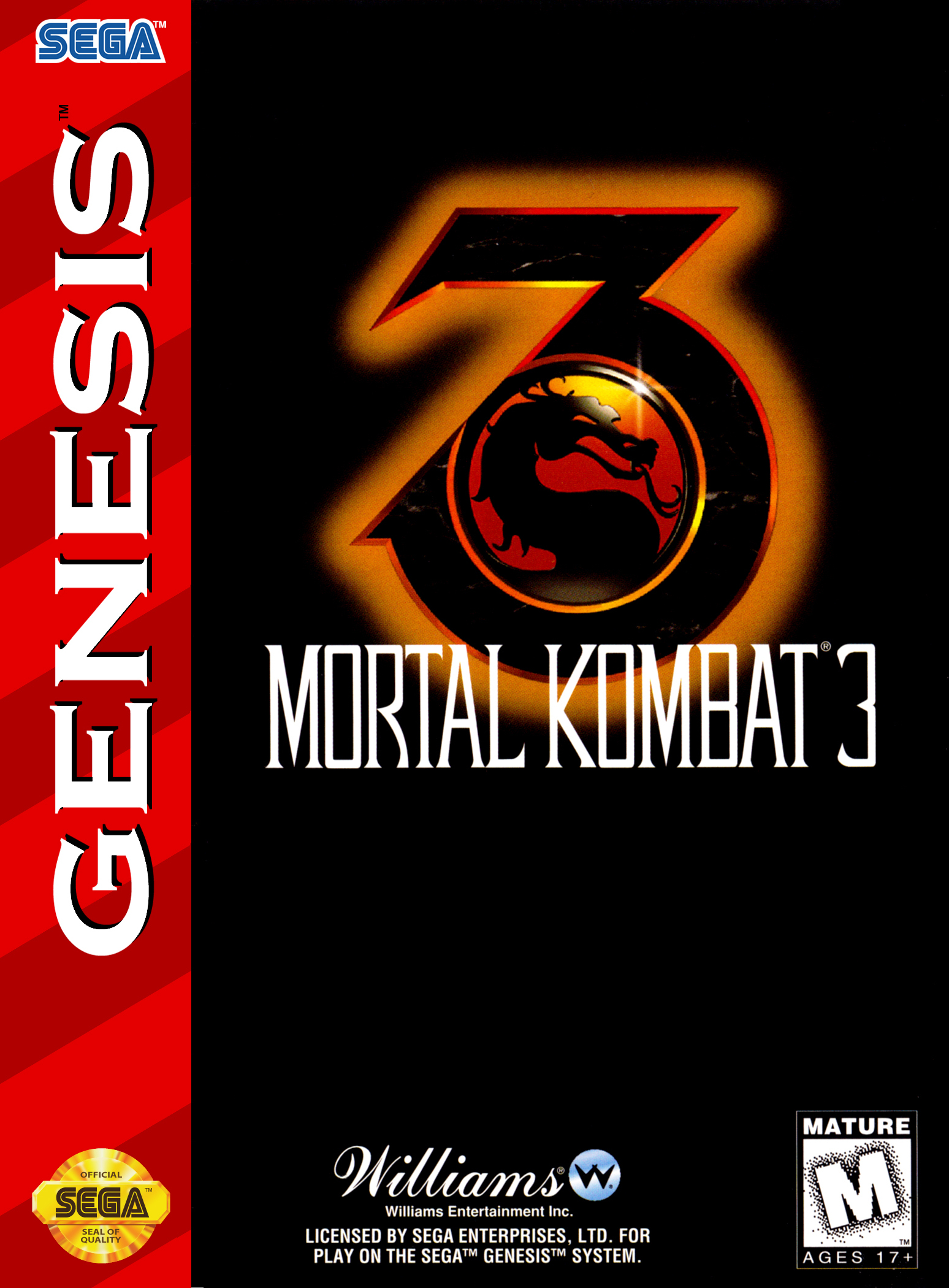 Mortal Kombat 3/Genesis