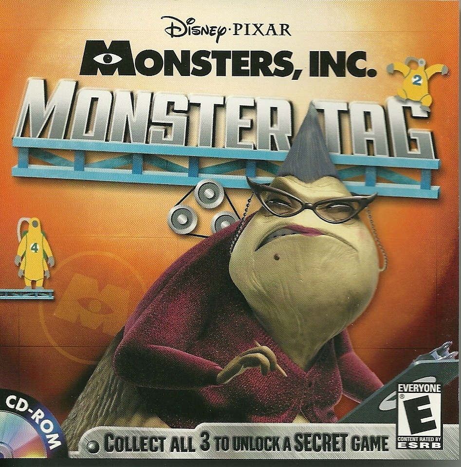Tgdb Browse Game Monsters Inc Wreck Room Arcade Monster Tag
