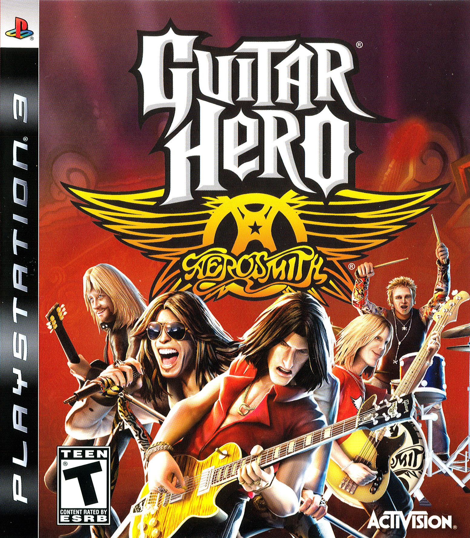 Guitar Hero Aerosmith (Jeu Seulement) / PS3
