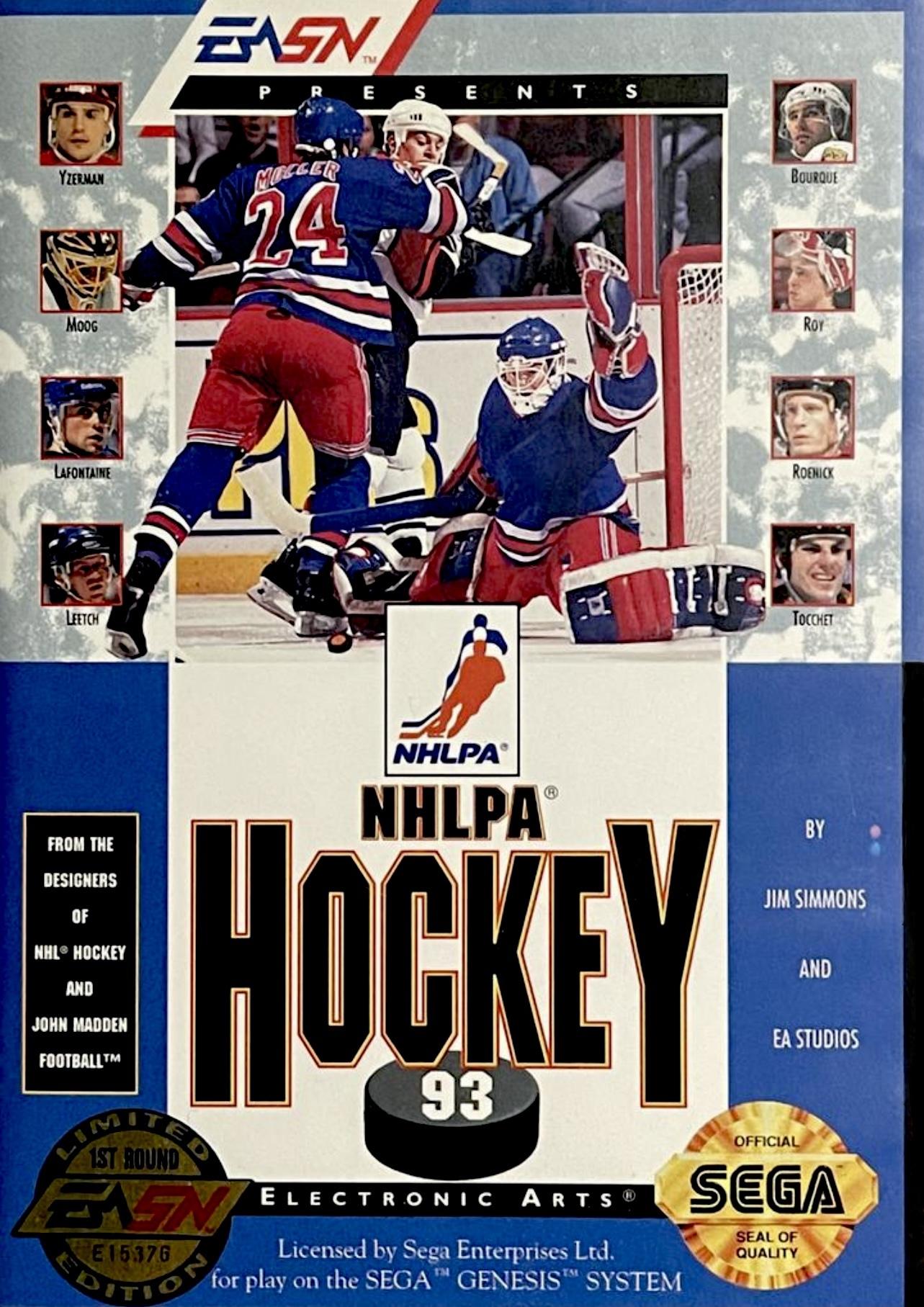 NHLPA Hockey '93/Genesis