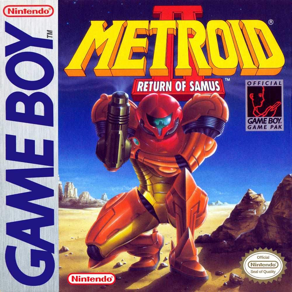 Metroid II Return of Samus/Game Boy