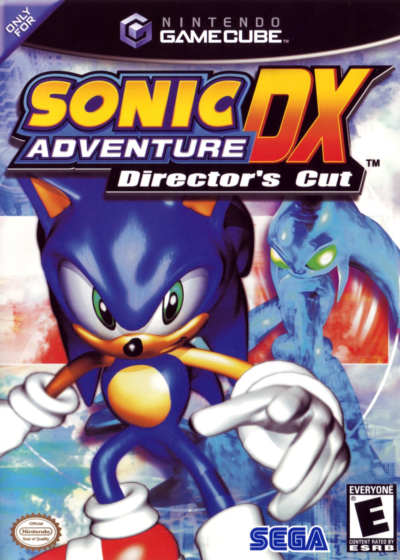 Sonic Adventure Dx Director's Cut/GameCube