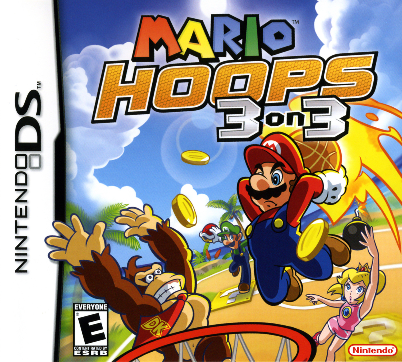Mario Hoops 3 on 3/DS