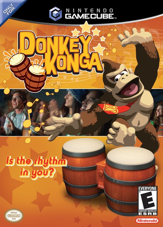 Donkey Konga (Jeu Seulement) / GameCube