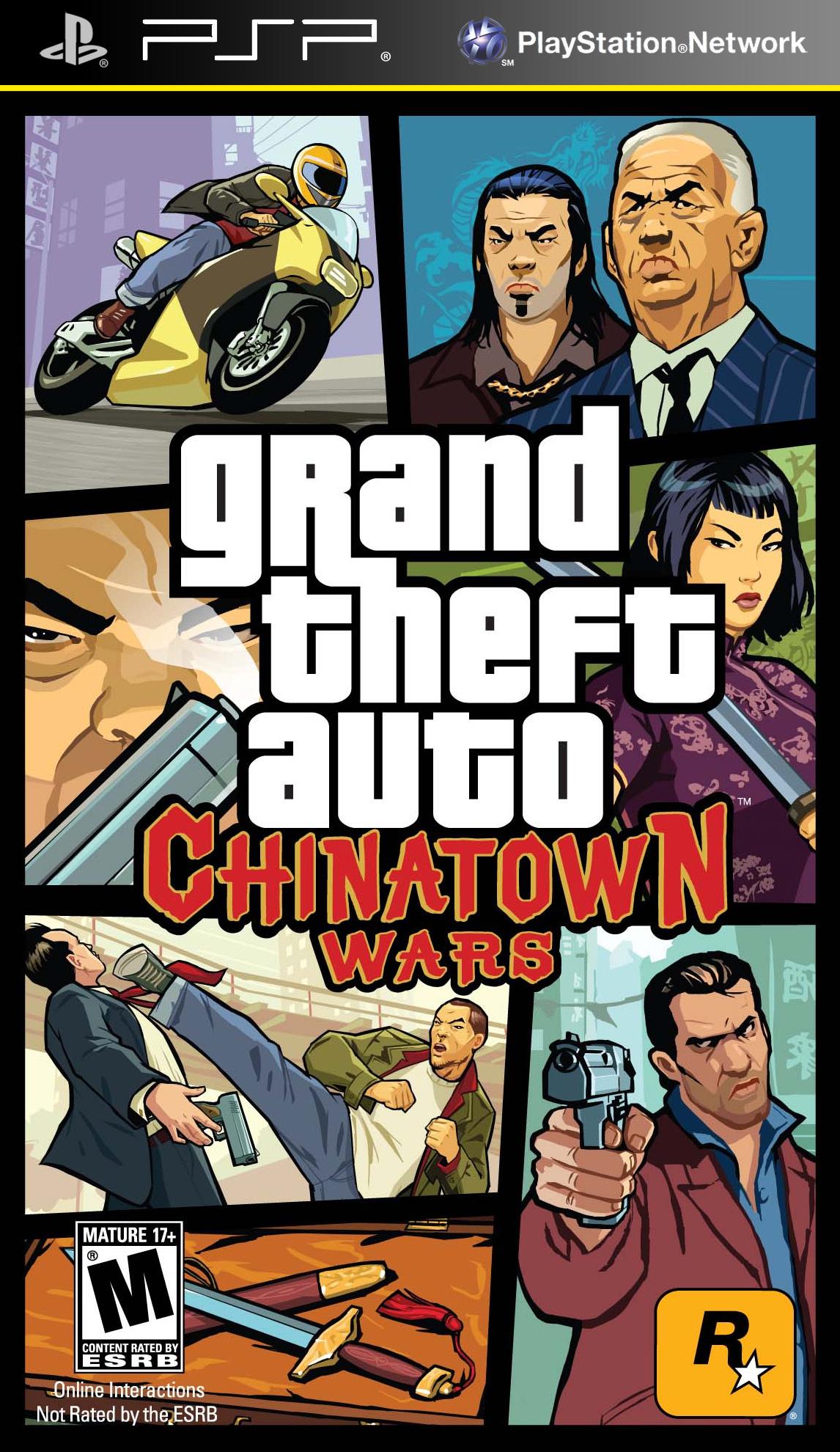 Grand Theft Auto Chinatown Wars/PSP