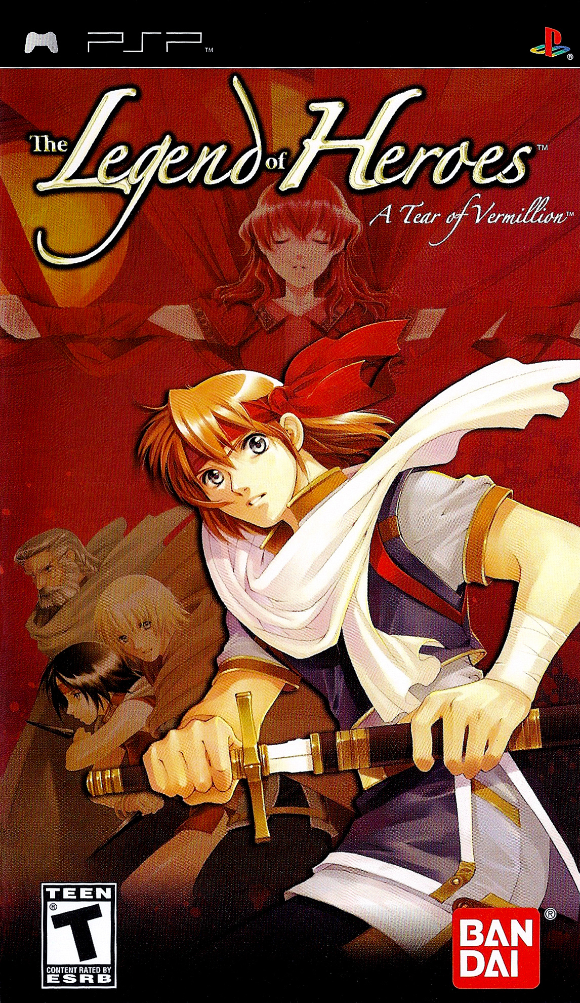 The Legend of Heroes A Tear of Vermillion/PSP