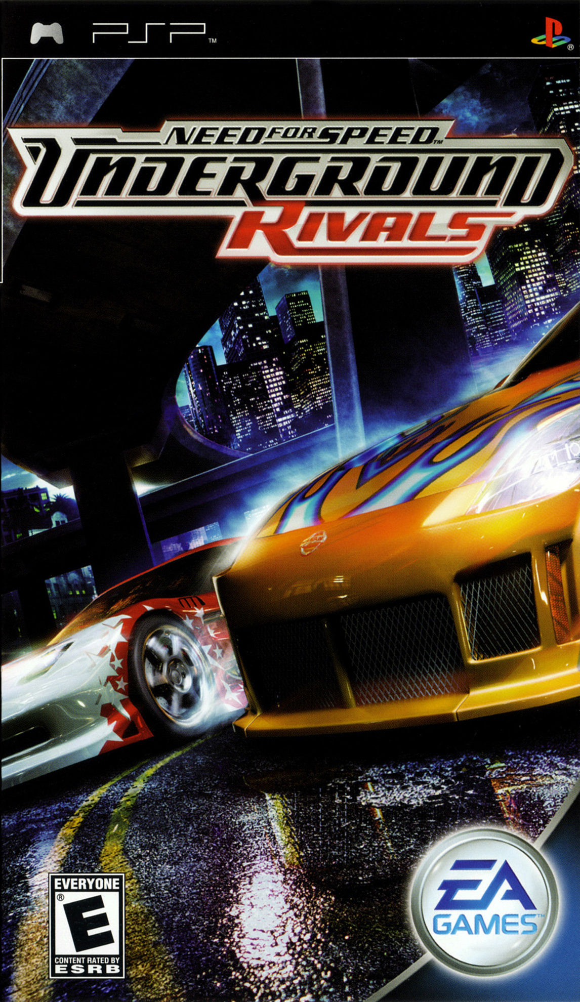 Need for Speed: Underground Rivals/PSP