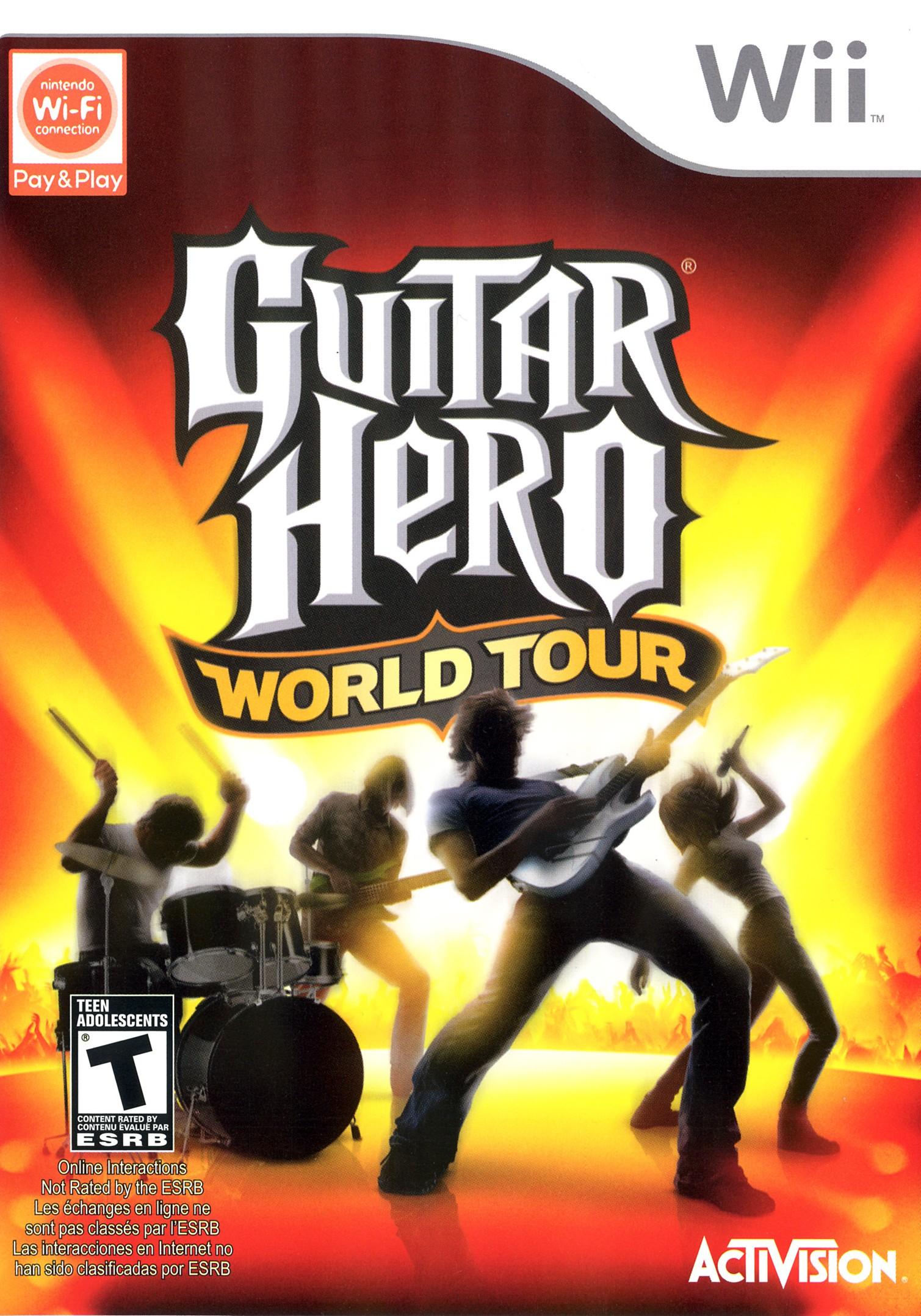Guitar Hero World Tour (Jeu Seulement) / Wii