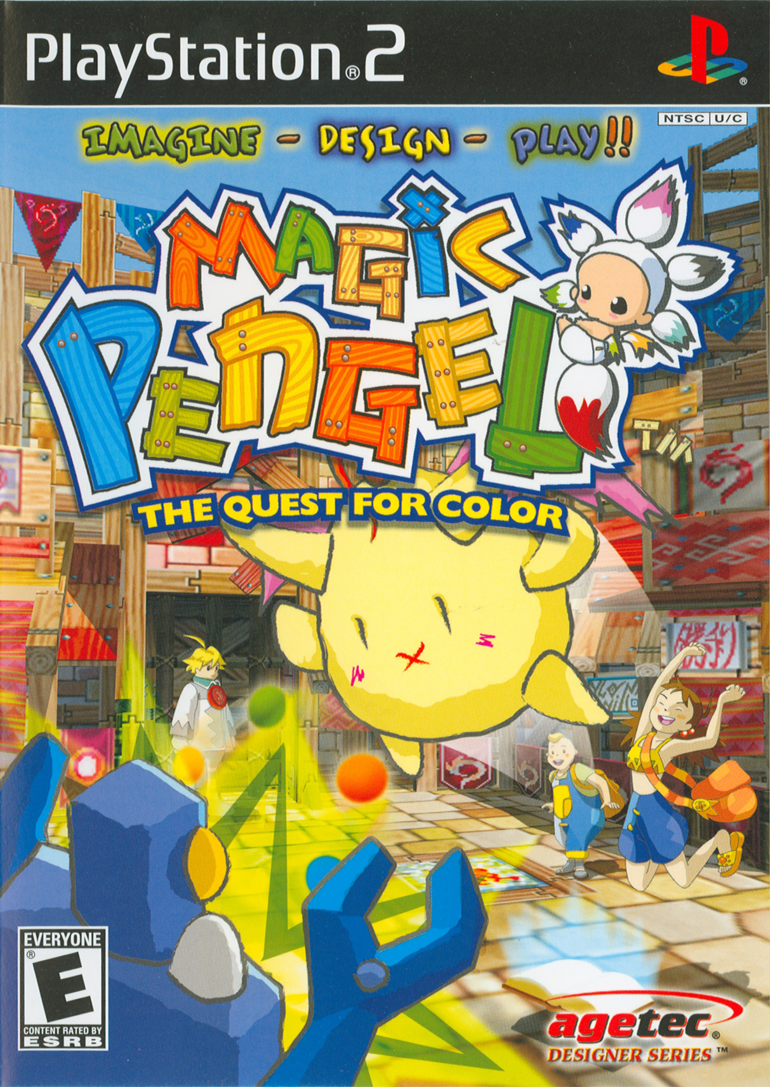 Magic Pengel The Quest for Color /PS2