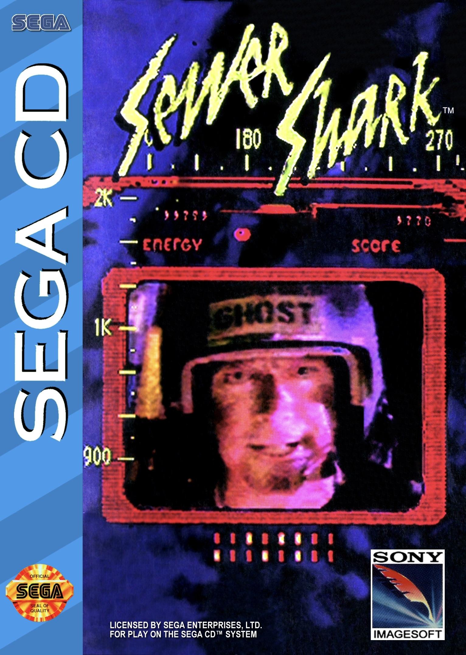 best SEGA CD games -  Sewer Shark CD case