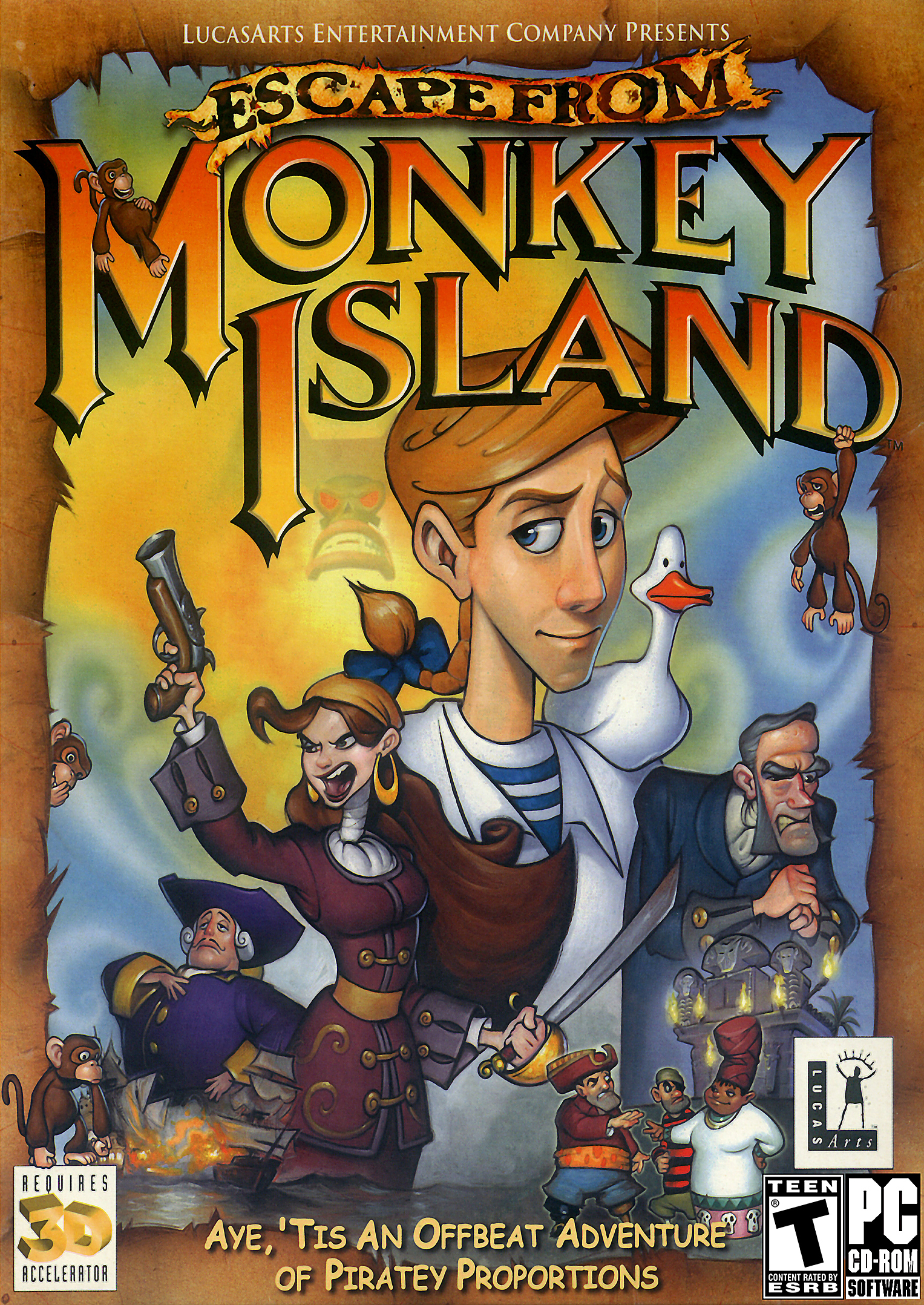 monkey island rom