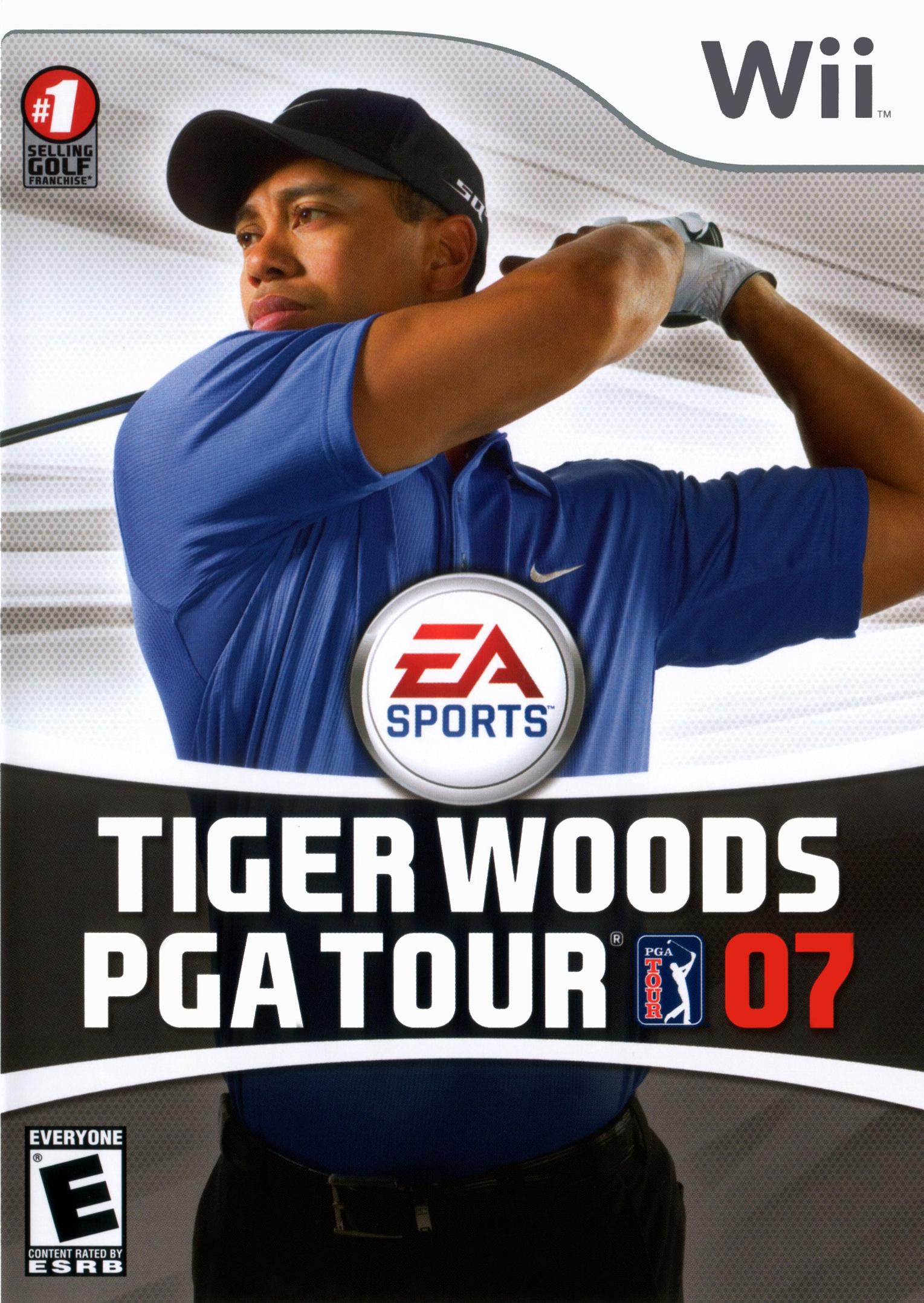 Tiger Woods PGA Tour 07/Wii