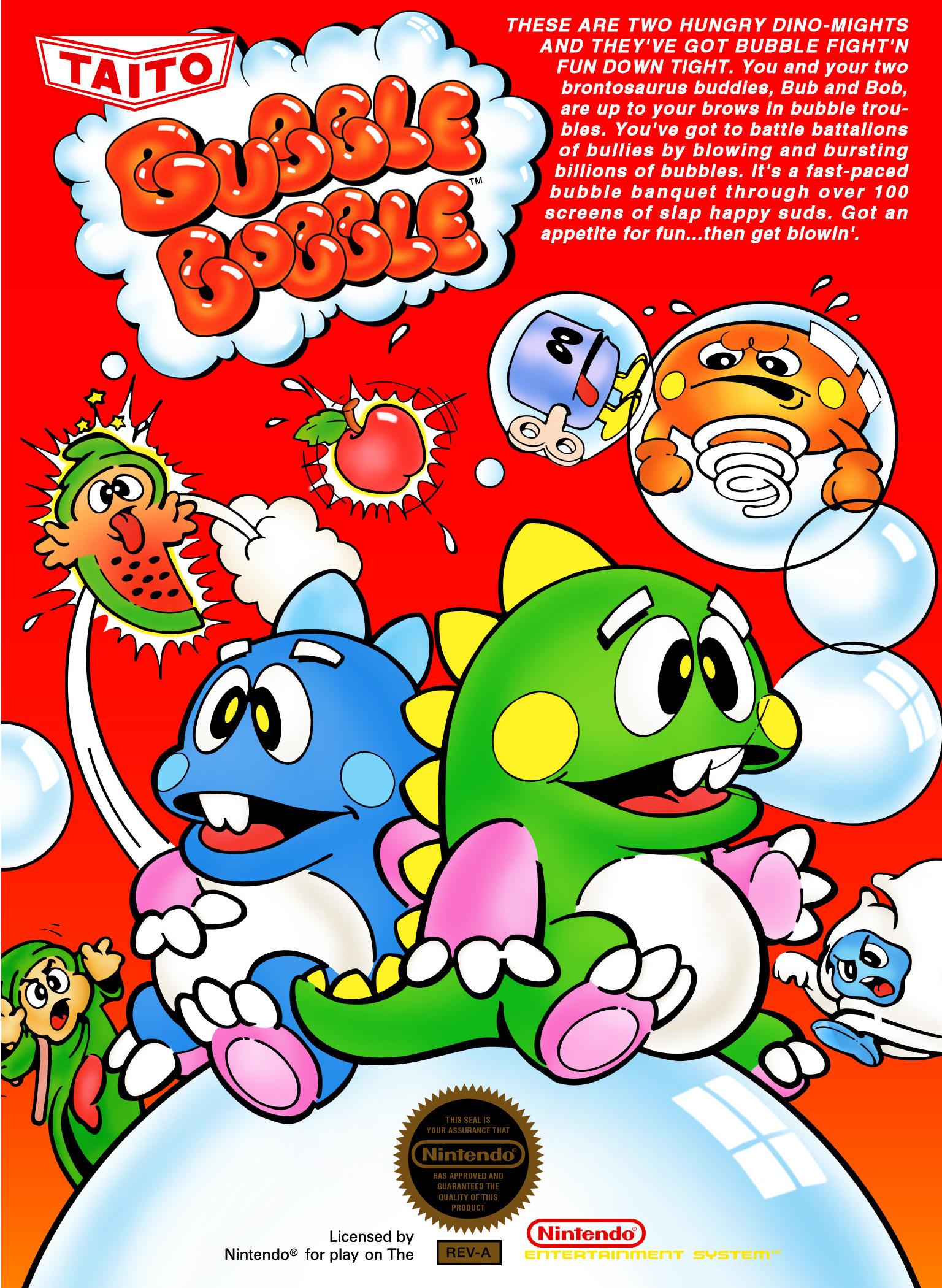 Bubble Bobble/NES