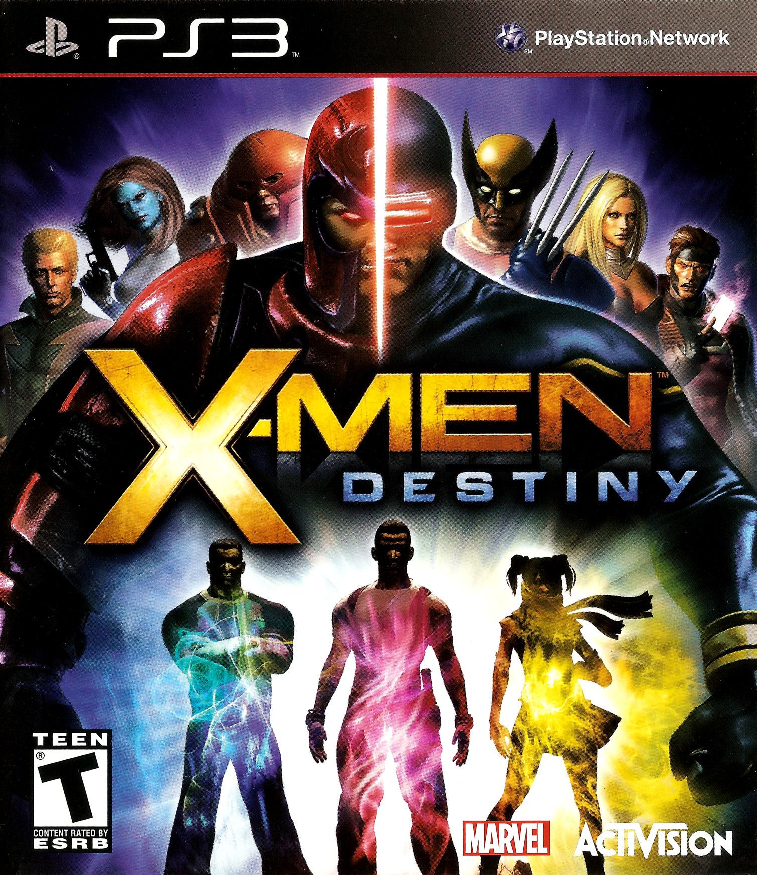 X-Men Destiny/PS3