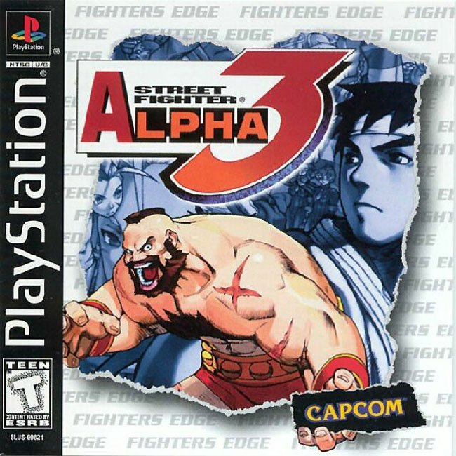 Street fighter Alpha 3/PS1