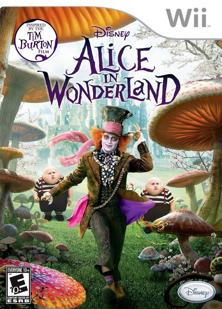 Alice in Wonderland /Wii