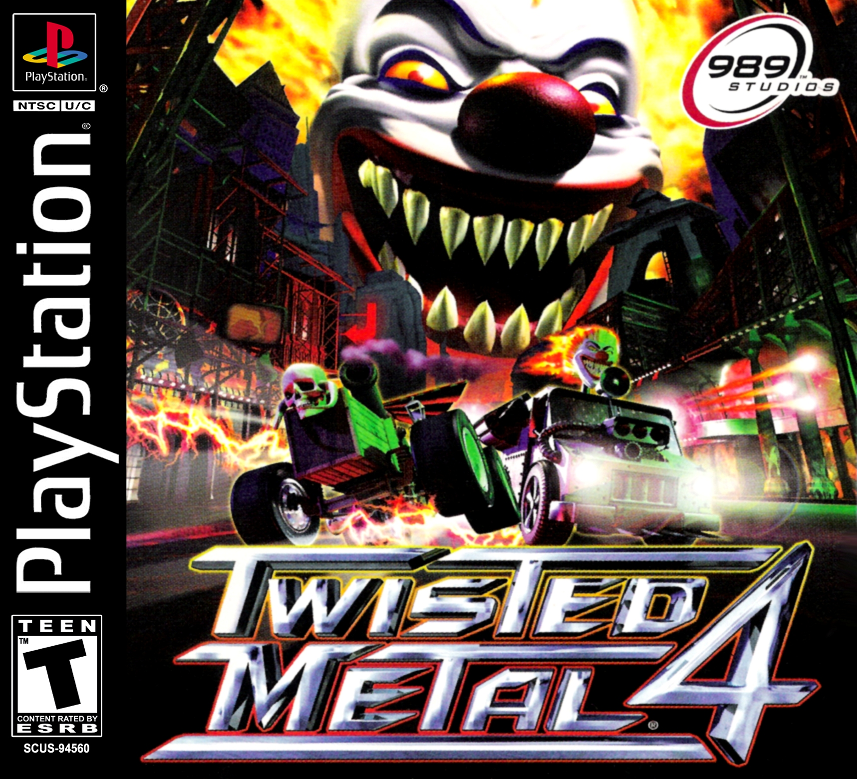 Twisted Metal 4/PS1