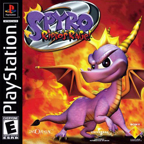 Spyro 2 Ripto's Rage/PS1