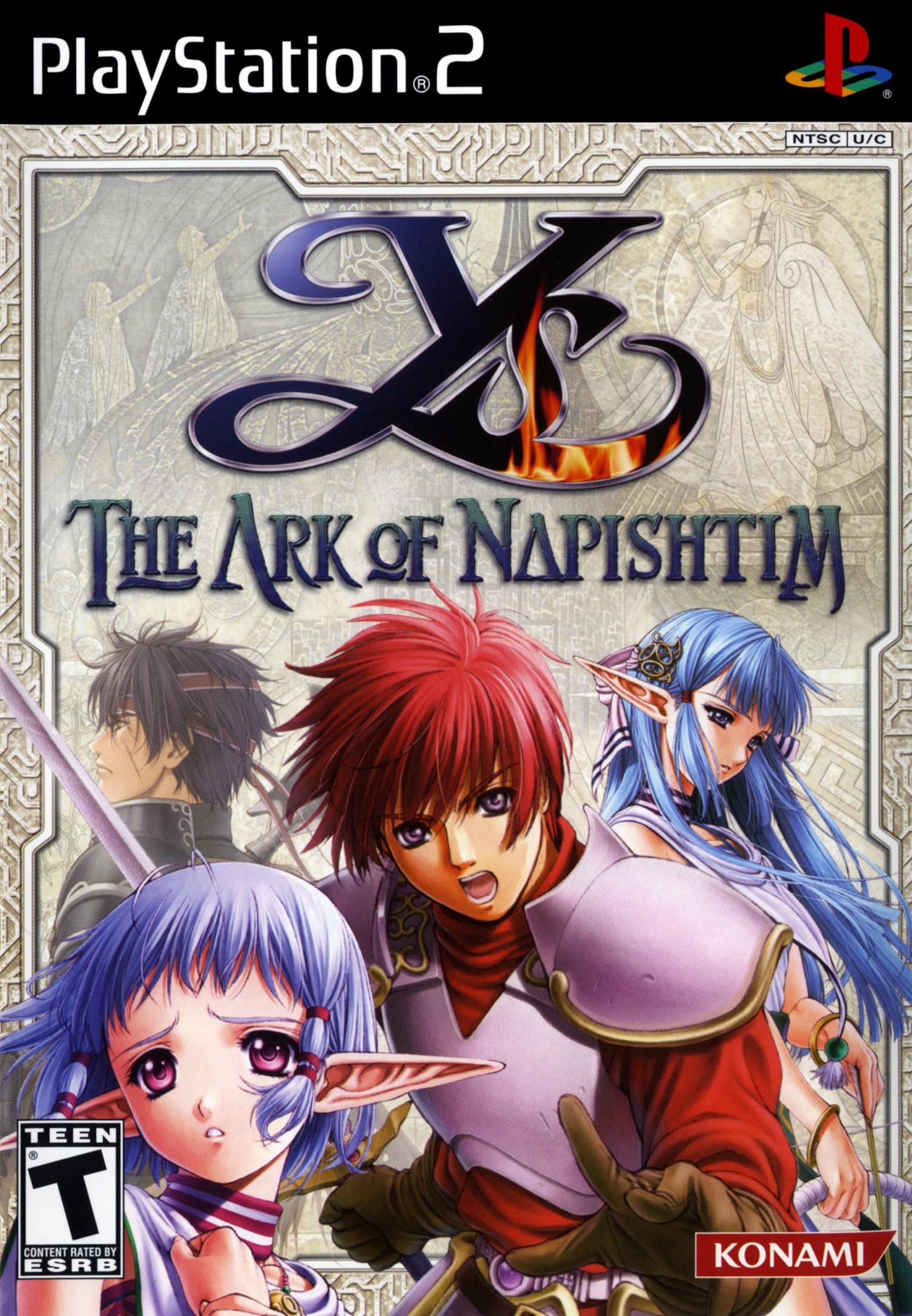 Ys The Ark Of Napishtim/PS2
