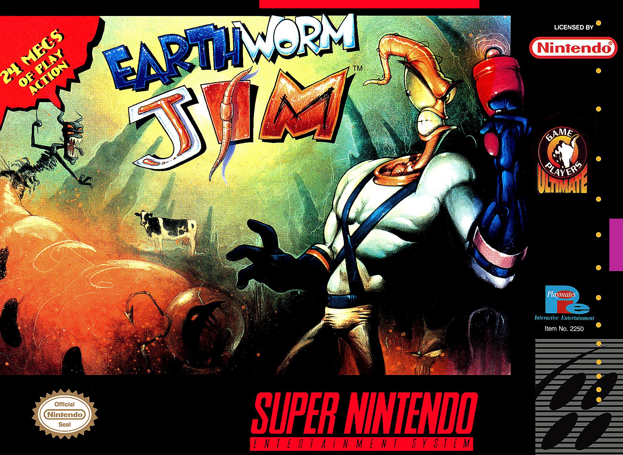 Earthworm Jim/SNES