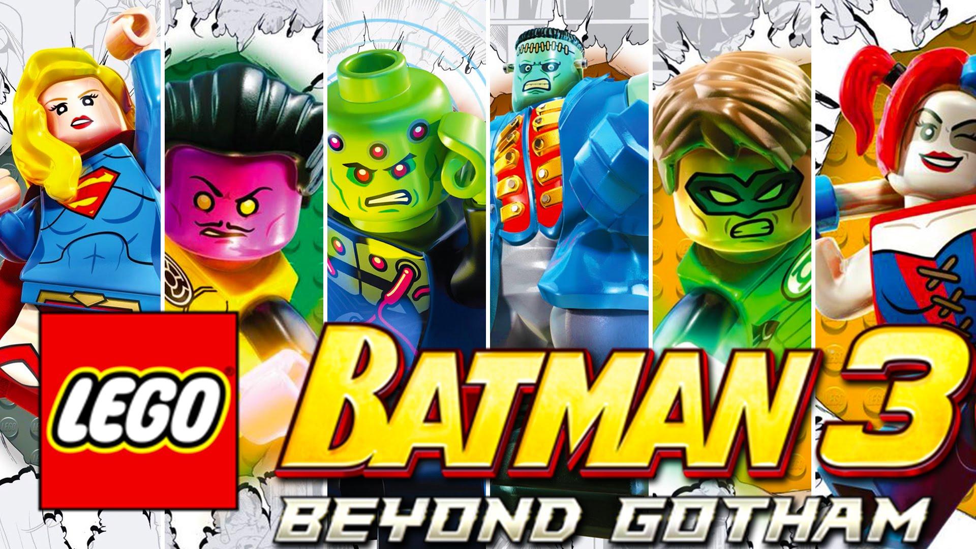 TGDB - Browse - Game - LEGO Batman 3: Beyond Gotham