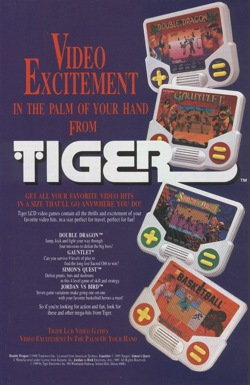 Handheld Electronic Games (LCD)