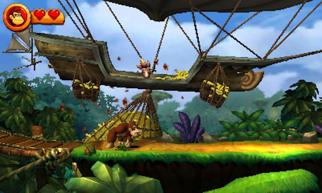 donkey kong country 3ds
