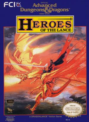 Advanced Dungeons & Dragons Heroes of the Lance /NES