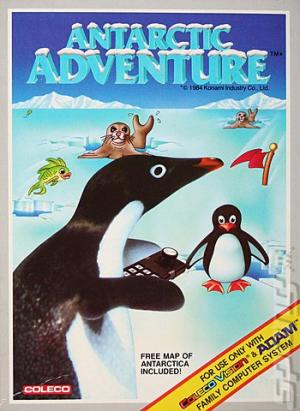 Antarctic Adventure/Colecovision