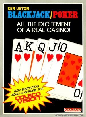 Ken Uston Black Jack / Poker / Colecovision