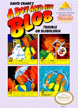 A Boy and His Blob Trouble On Blobolonia/NES