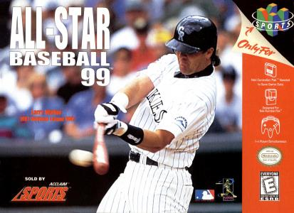 All-Star Baseball 99/N64