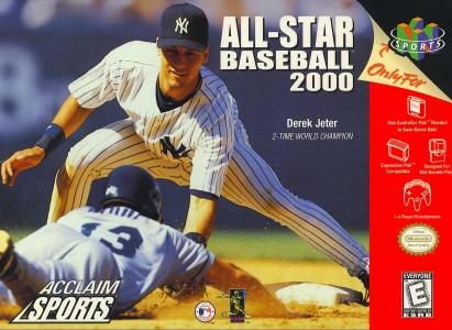 All-Star Baseball 2000/N64