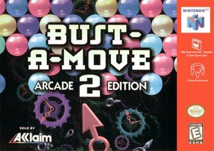 Bust-A-Move 2 Arcade Edition/N64
